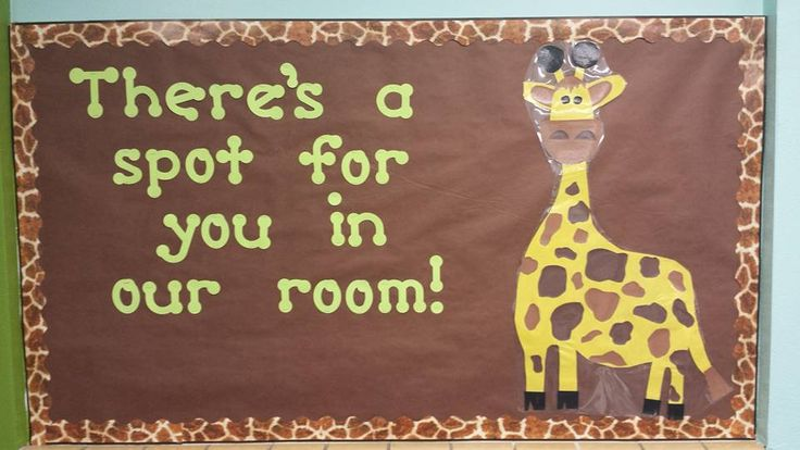 There's a Spot for You in Our Room by Bayley L. {Inspired by My Classroom Ideas}