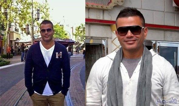 النجم عمرو دياب ينشر موضة الماركات العالمية وسط الشباب بالرغم من تجاوزه سن 50 Fashion Style Rayban Wayfarer