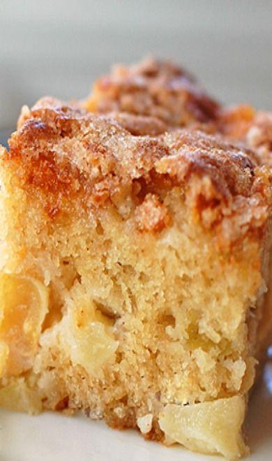 Cinnamon Sugar Apple Cake - (Easy)
