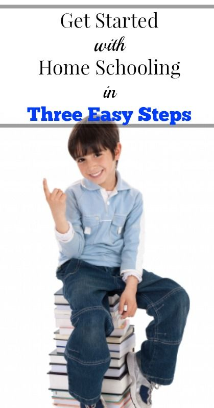 How To Get Started With Homeschooling in Three Easy Step {Homeschooling, Tips for Moms, Parenting}