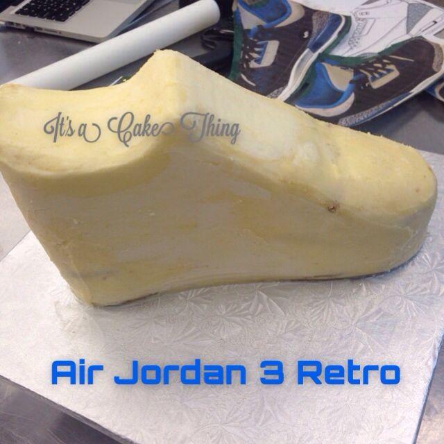 Air Jordan 3 Retro Hightop shoe cake- Air Jordan Shoe Cake ♫ Fetty Wap - Trap Queen Made with Flipagram - http://flipagram.com/f/YwT06qNbj1