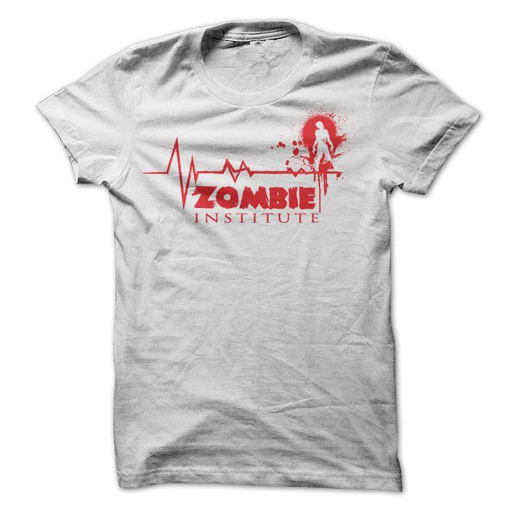 Zombie Institute T Shirt