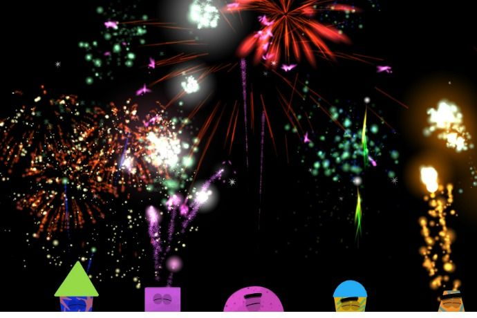 Check out Fireworks Lab, the first fireworks app for kids we've found that's perfect for kids, and won't have them running at the sound of the first BOOM.