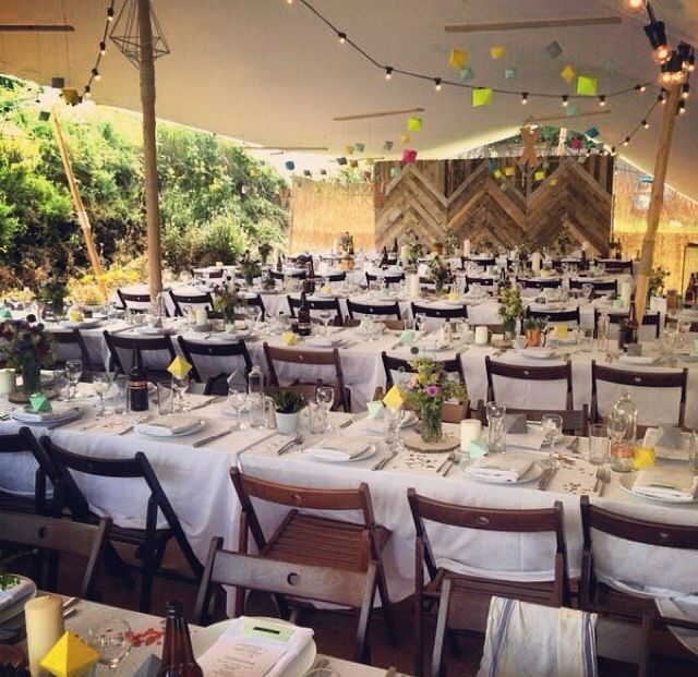 Wedding Reception PortnooDonegalwhite 15m X 10m Stretch Tentapprox 110 Guests Maverickmarquees Weddingmarquees Creativeideas