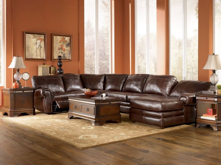 Sofa Furniture> Living Room Furniture> Recliner> Right Facing With Brown Floor And Classic Lamps Modern Genuine Leather Sofa Sets Modern Genuine Leather Sofa Sets Sofa leather sofa sets bangalore. leather sofa sets price. leather sofa sale edinburgh.