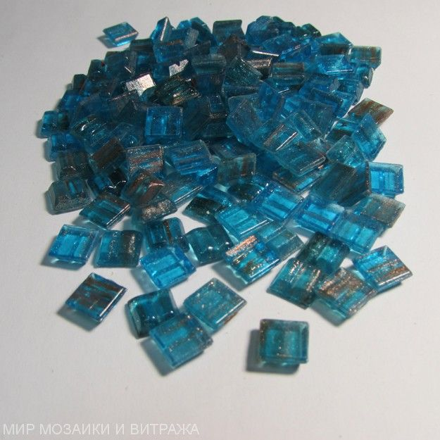 Мозаика стеклянная Mix14(GA62+GA162) 10х10 мм (под матрицу)