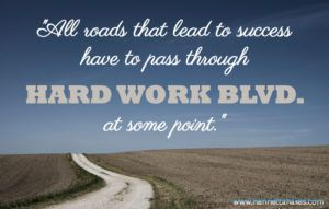 The Real Hard Work