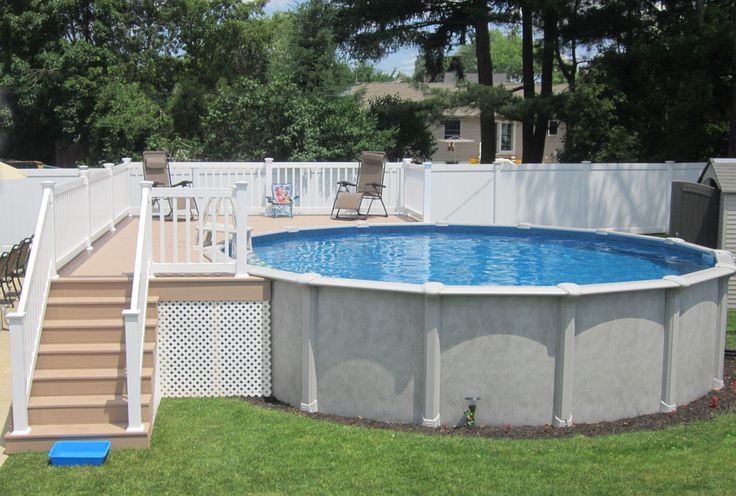 1000 images about brothers 3 pools aboveground semi for What s the best above ground pool