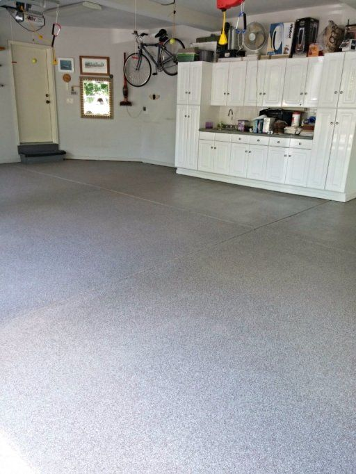 Decorative functional beautiful garage epoxy concrete for Flooring alternatives