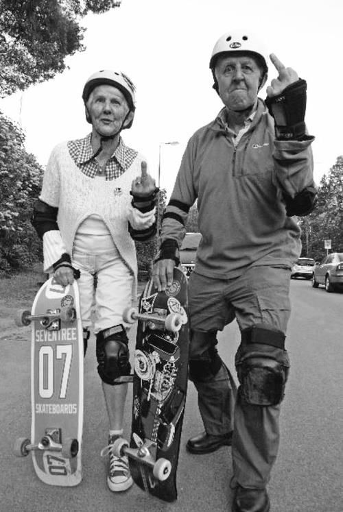 awesome old people - i wish me and my byfriend in 60years ;)