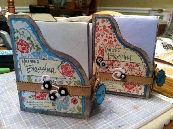 Pam Butler--Card File Gift