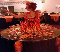 Walkabout entertainment available to book for Halloween themed events in  London and the UK30 best Human Tables  Strolling Tables  Living Tables  Human Trees  . Living Tables London. Home Design Ideas