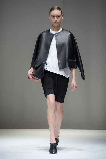 Leather jackets like you've never seen them before by Neil Barrett.
