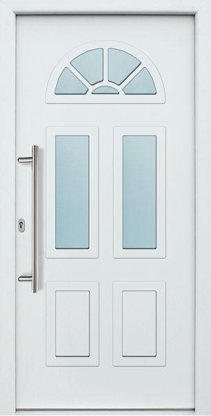 Akuri Aluminium Eingangstür Haustür 3-fach Verglasung