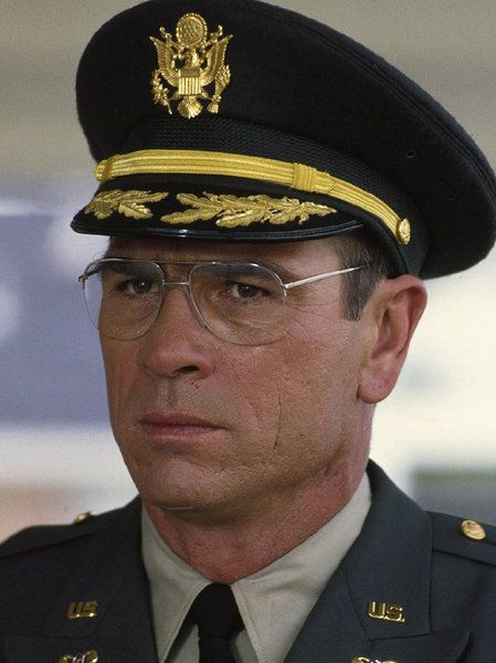 What's more difficult? Managing his job as a Major in the United States Army or managing things at home and his wife's mental illness - He handles them both in stride until one gives way - Tommy Lee Jones in BLUE SKY. Great Actor.