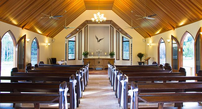 Caloundra Wedding Collective suppliers all love this chapel, so close to Caloundra only a 15 min drive