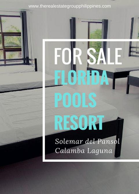 FOR SALE! FLORIDA POOLS RESORT Fully Furnished Lot Area: 500sqm Floor Area: 479sqm Pools: 1 Lap Pool 1 Kids Pool 1 Jacuzzi Rooms: 6 with own AC Units and Toilet & Bath For 23000000  Inclusive of VAT. With Driver's room Caretaker House and Generator  NOTE: For inquiries please call or message 09778591201 (PLS DON'T WRITE A COMMENT AS WE MAY NOT SEE IT OR BE ABLE TO RESPOND TO IT)  http://ift.tt/2pTDlIg