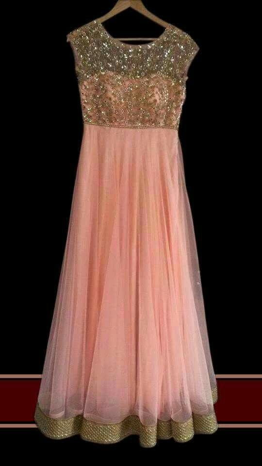 Peach anarkali                                                                                                                                                                                 More