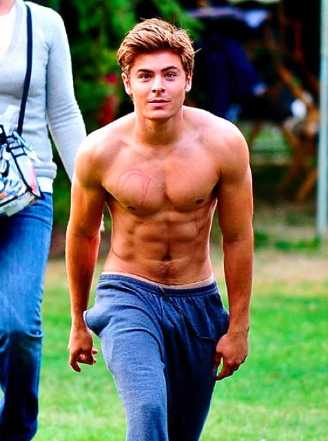 Zac Efron in Charlie St. Cloud. I love this movie too much!