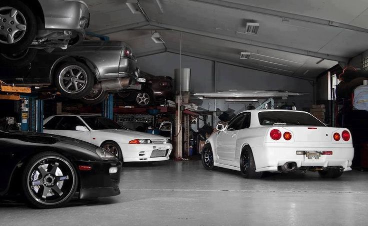 Jdm Garage Supra Skylines Cars Pinterest Jdm Jdm