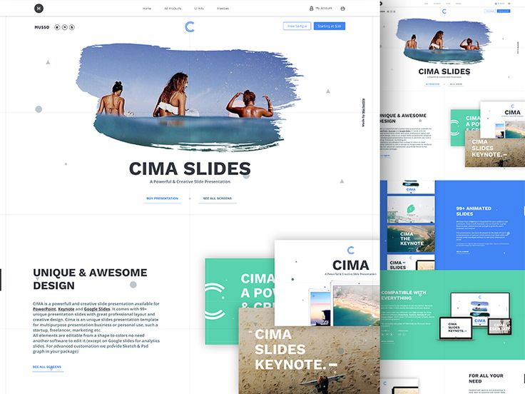 Cima Slides Presentation