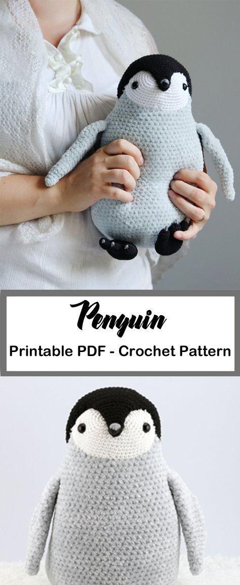 Häkelmuster für Pinguine – Tipps für Amigurumi – Ein schlaueres Leben #häkeln #häkeln