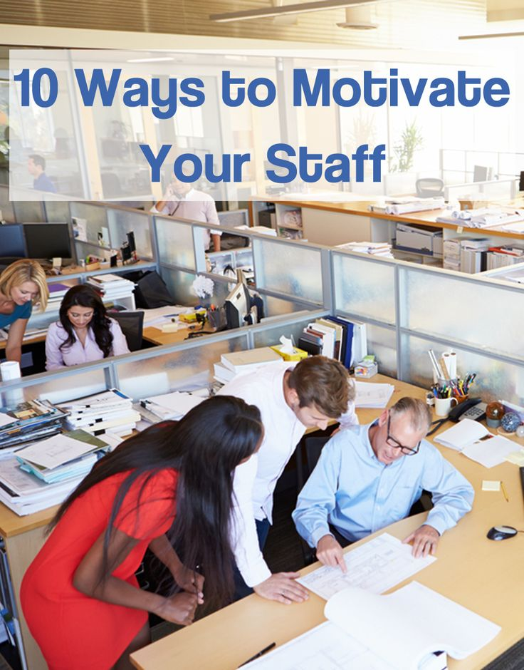 10 Ways to Motivate Your Staff | People HR Blog