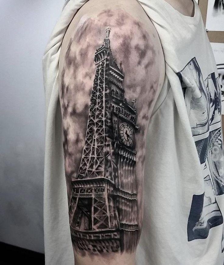 best 25 big ben tattoo ideas on pinterest skyline tattoo simple foot henna and cincinnati tattoo. Black Bedroom Furniture Sets. Home Design Ideas