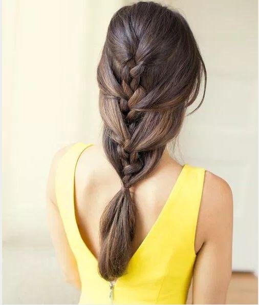 Kreative Französisch Braid Frisuren 2015 für Frauen Check more at http://www.rnafrisuren.com/2015/09/20/kreative-franzosisch-braid-frisuren-2015-fur-frauen/