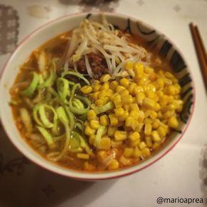 Ricetta Ramen dell'Okkaido  Oggi vi spiego come preparare uno dei più famosi ramen giapponesi, quello con mais burro e carne piccante dell'Okkaido.  http://www.nihonjapangiappone.com/pages/cucina/ricette/ramenokk.php  Conoscete questo ramen?  #ricette   #ramen   #okkaido   #cucina   #giapponese