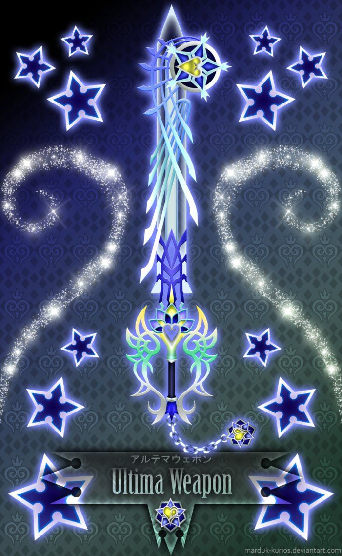 Keyblade Ultima Weapon -BBS-T- by Marduk-Kurios on DeviantArt