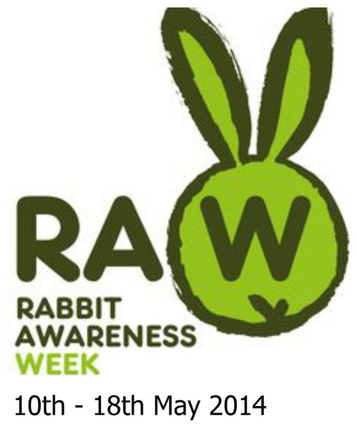 Rabbit Awareness Week kicks off this Saturday - What are you doing? #HappyBunnies #OneSmallHop #RabbitAwarenssWeek2014  http://www.rabbitawarenessweek.co.uk