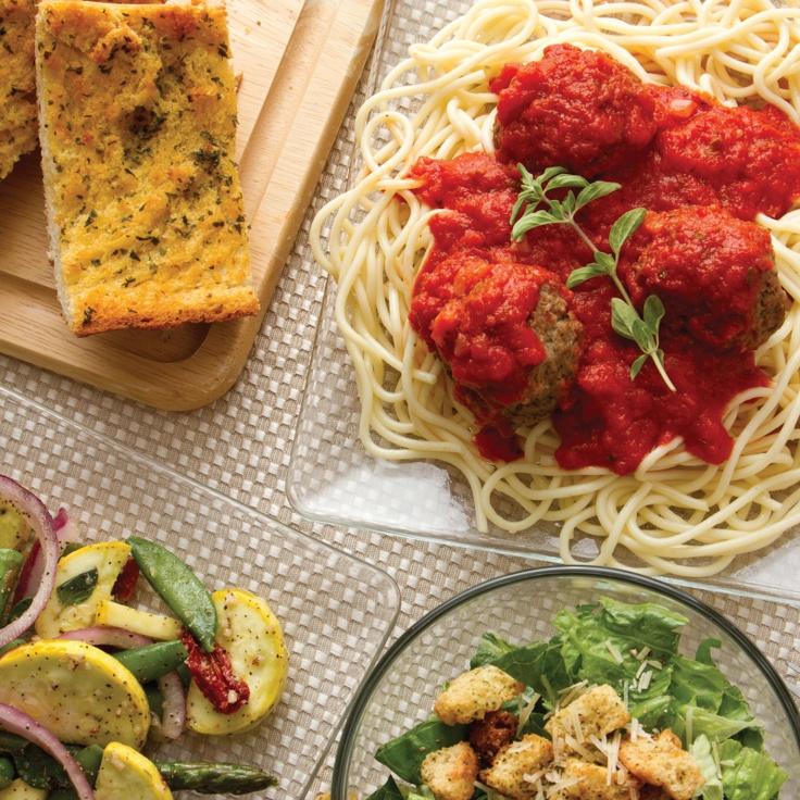 Italian Family Style Buffet. Homemade pasta, Homemade