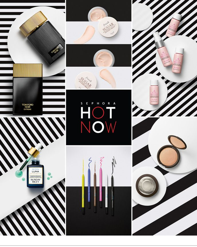 Sephora Glossy / SEPHORA HOT NOW: SUMMER NIGHT ESSENTIALS