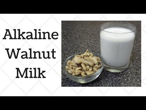 Walnut Milk Dr. Sebi Alkaline Electric Recipe - YouTube