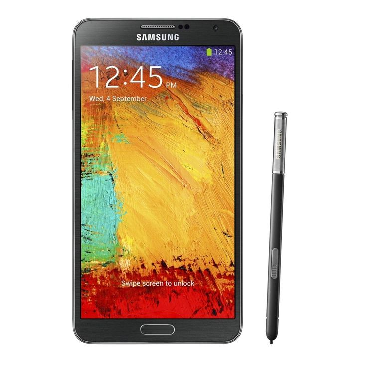 Samsung Galaxy Note 3 N900A 32GB Unlocked GSM 4G LTE Certified Refurbished Cell Phone -