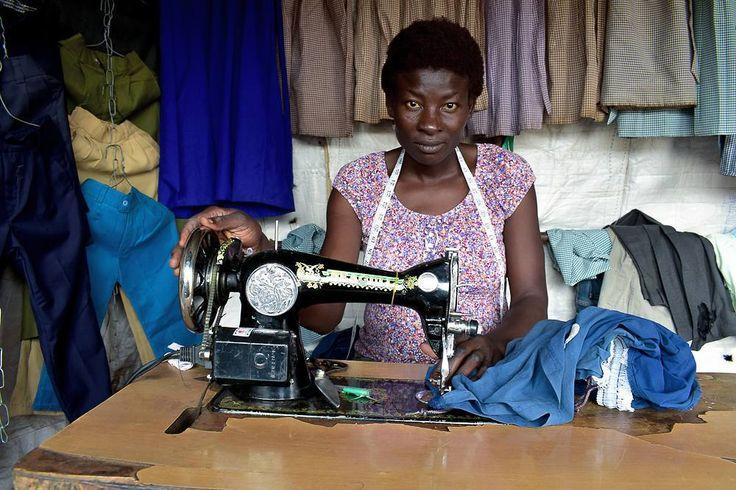 A tailer repairs school uniforms ready for sale just weeks before schools are opened in Kibera slums. #donwilisonodhiambo #everydayafrica #everydayeverywhere #womenphograph #slumphotographer #documentaryphotographer #kiberaslums #dailyafrica . . Photography by Donwilson Odhiambo donwilsonkibera.WordPress.com  @donwilson.odhiambo @odongo.donwilson 2017 http://ift.tt/2kk9RVm http://ift.tt/2nqyOzn