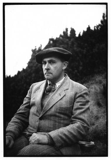 Stanisław Ignacy Witkiewicz w Tatrach, fot. Józef Głogowski, pierwsza połowa lat 30. (z kolekcji Ewy Franczak i Stefana Okołowicza)