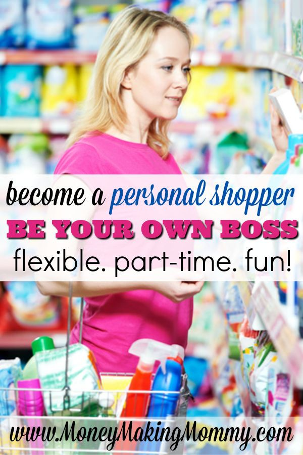 Do you love shopping? Or maybe you just love helping others. There are so many different types of personal shoppers out there - and you could be one of them. You can run your own personal shopping business and make it part-time and flexible to give you great work/life balance. Get ideas on how you can start your own personal shopper business at MoneyMakingMommy.com.