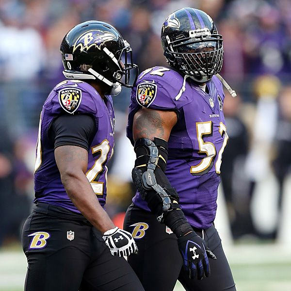 Ed Reed and Ray Lewis