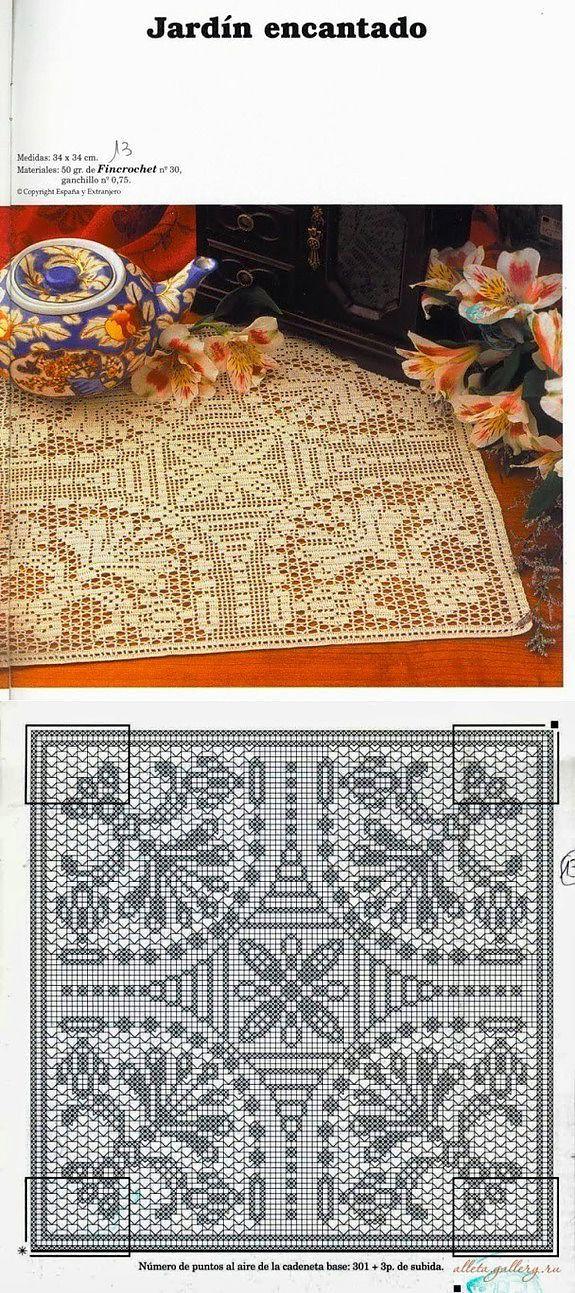 Crochet filet...♥ Deniz ♥