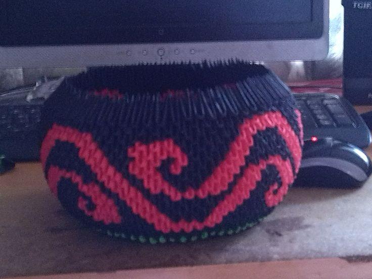Maori Design 3d origami bowl