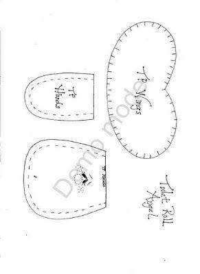 Desejo Craft: Anjinha porta-papel higiênico