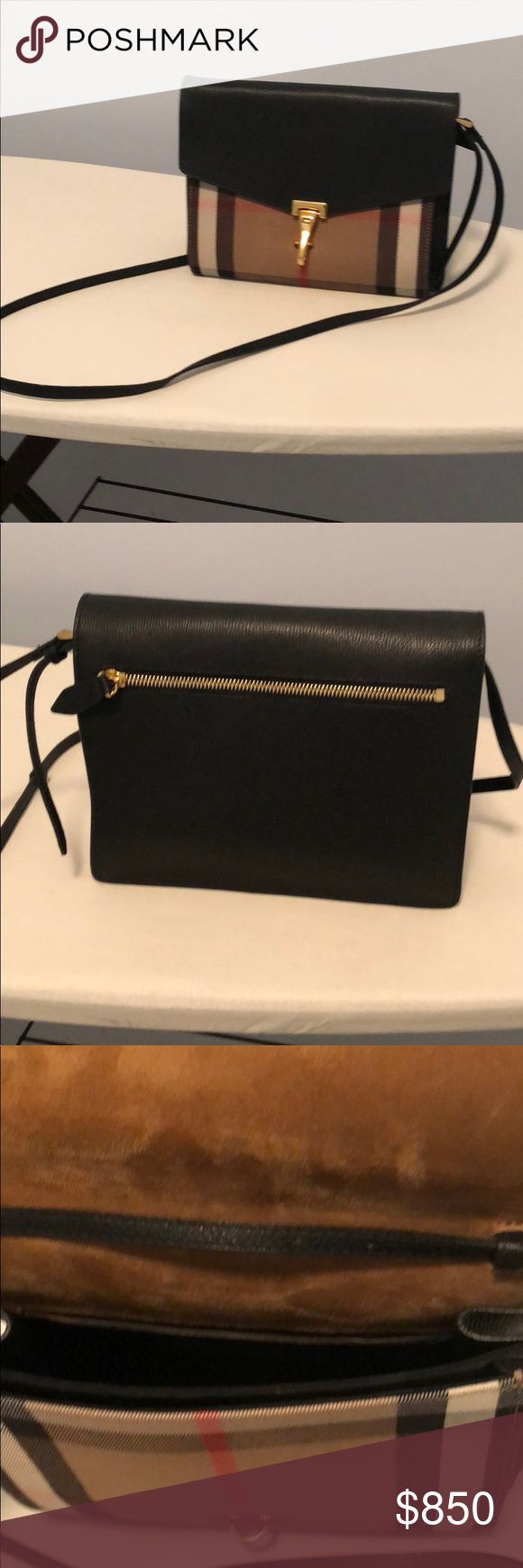 Burberry LL SM Mackenzie Crossbody Burberry Crossbody bag purchased at Burberry store Towson, MD. Bag was purchased on 12/31/2017 newer style. Have box, receipt and dust cover. No trades. Burberry Bags Crossbody Bags