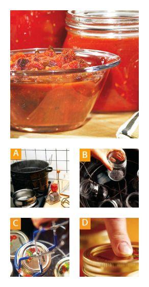 Étape par étape, on vous montre comment procéder pour stériliser des pots de #conserve maison. #sterilisation