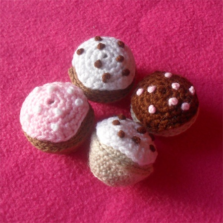 17 Best images about Crochet - Mini Cupcakes on Pinterest ...
