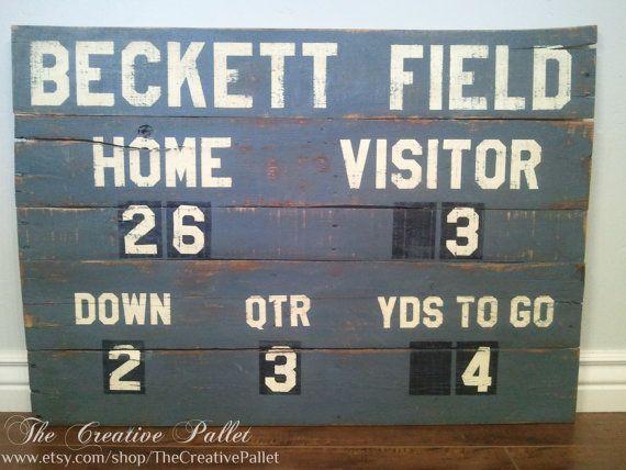Cubs score board