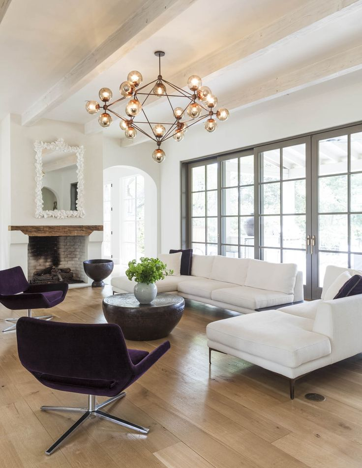 SHM Architects | Surrey Circle | Living Space | Living Room | Light Fixture
