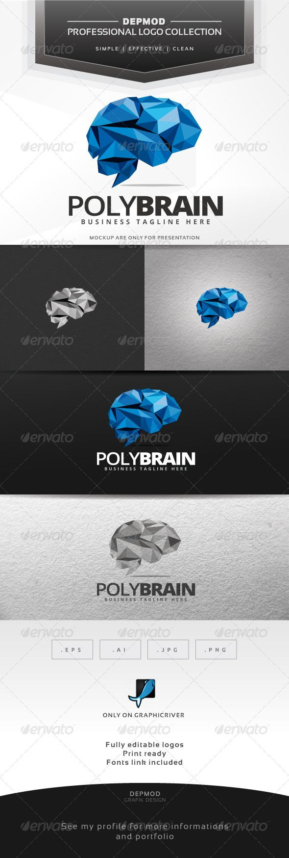 I like the use of a general brain image but in a colorful and more dynamic way.  Might apply to mental skills.