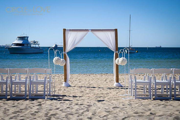 Rockingham Beach Wedding www.circleofloveweddings.com.au